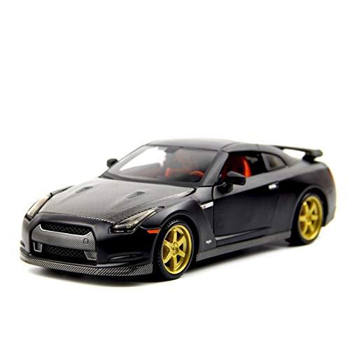 Aleación presión fundición Coche Modelo Kit 1:24 para GTR Sports Car Convertible Mini Aleación De Automóvil Modelo De Auto Simulación Coche Decoración Colección Regalo Juguete (Color : 2)
