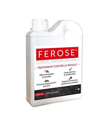 Ferose - Convertisseur de Rouille - Traitement Contre la Rouille - 500 ML