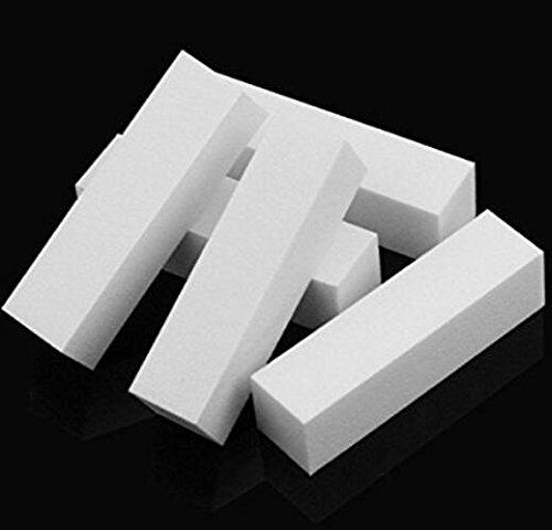 Nail Art Conseils Tampon de polissage Tampon de ponçage des fichiers de bloc Outil de manucure (5pcs)