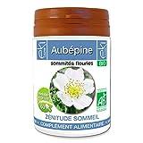 Aubépine BIO   60 gélules   Zénitude Stress Sommeil   270 mg dosage 100% naturel sans additif et non comprimé   EKI LIBRE