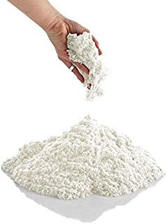 CoolSand 2 lb. Refill Package, Moldable Play Sand for All Ages - Patented Formula - (White)