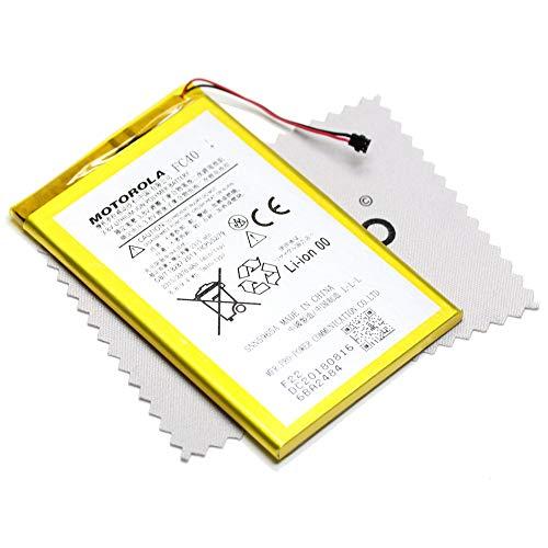 Batería para Motorola Original FC40para Motorola Moto G (3ª Gen–2015) 2315mAh + mungoo Pantalla paño de Limpieza