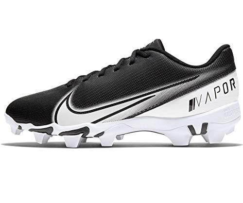 Nike Vapor Edge Shark Mens Football Cleat Cd0074-001 Size 12 Black/White