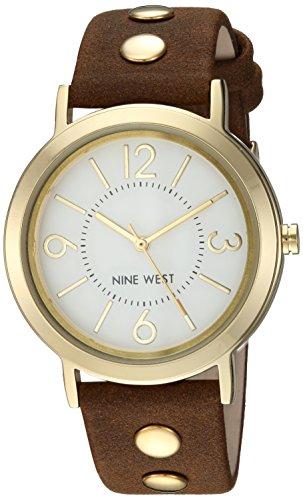 Reloj Nine West Fall Winter 2017 para Mujer 36mm, pulsera de Piel de Becerro