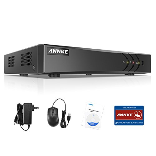 ANNKE TVI 1080P Lite 4 Canali Network Digital Video Recorder Video Sorveglianza Videoregistratore CCTV DVR HVR NVR Sicurezza di Sistema P2P Email Allarme 3 Snapshot Manuale Italiano senza HDD