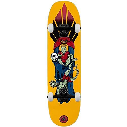 Welcome Futbol - Skateboard completo Moontrimmer 2.0, 21,6 cm, colore: Oro
