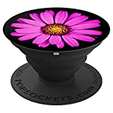 Pink Daisy Pop-Socket Beautiful Floral Print Gift for Women