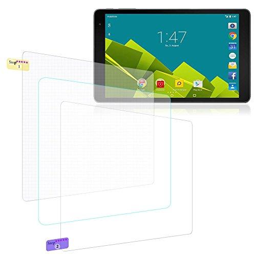 Bildschirmschutz Folie f Vodafone Tab Prime 6 Schutzfolie 3X kistallklar Universal