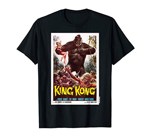 King Kong Movie Poster Shirt Vintage