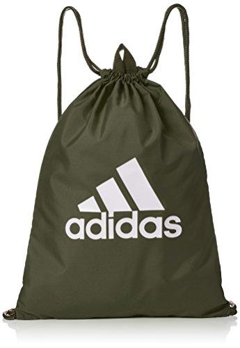adidas Performance Logo Gymbag Turnbeutel, grün/Weiß, OneSize