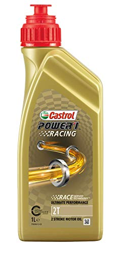 Castrol Power 1 Racing 2T Olio, Naturale, 1L