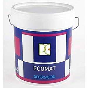 PINTURA PLASTICA ECO BLANCO MATE EXTRA CUBRIENTE – Libre de emisiones – 4 LTS + Regalo Mini Rodillo Antigota