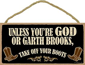 SJT ENTERPRISES, INC. Garth Brooks - Unless You're God or Garth Brooks, take Off Your Boots 5