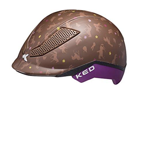 KED Pina Helmet Kids Pferdefreunde Kopfumfang S | 50-53cm 2018 Fahrradhelm