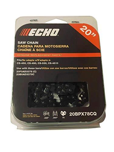 """20BPX78CQ Echo 20"""" .325 Chainsaw Double Guard Chain Fits Echo CS-450P CS-4510 CS-490 -  Chainsaw Parts"""