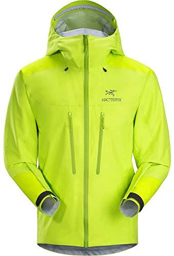 Arcteryx Alpha AR Jacket Men - Gore-TEX® Pro Jacke, Größe:L, Farbe:Pulse