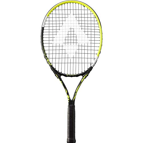 TECNOPRO Unisex Jugend Bash 23 Tennisschläger, Black/Yellow, 0