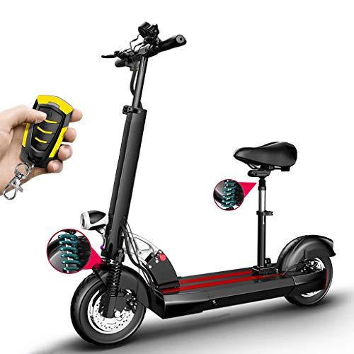Patinete Electrico Adulto, Plegable Electric Scooter para Adultos,15AH 400W Pantalla LCD 3...