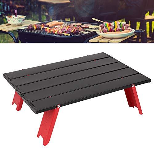 Zwindy Camping Tisch | Kleiner tragbarer klappbarer Picknick-Schreibtisch aus Aluminiumlegierung mit Aufbewahrungstasche zum Kochen im Freien.