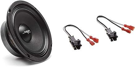 """$30 » Skar Audio FSX65-8 6.5"""" 300 Watt 8 Ohm Pro Audio Midrange Loudspeaker, Each & Metra 72-4568 Speaker Harness for Selected G..."""