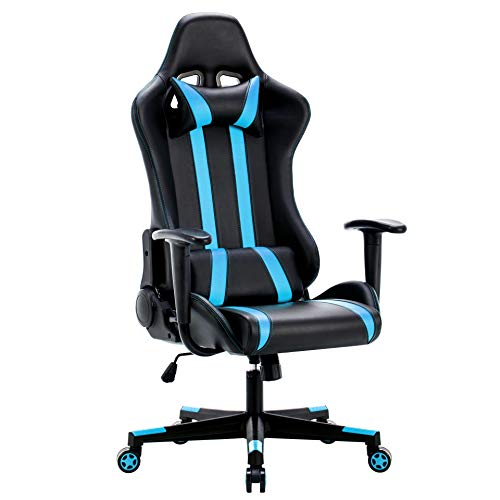 IntimaTe WM Heart Silla Gamer, Silla Gaming Silla Escritorio Giratoria, Altura Ajustable Respaldo In
