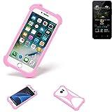 K-S-Trade® Mobile Phone Bumper For Allview P4 Pro Silicone