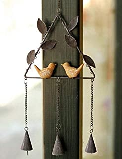 TAGZ SPORTS UNLIMITED San Francisco Football Metal Decorative Hanging Wind Chime 33 inch Long