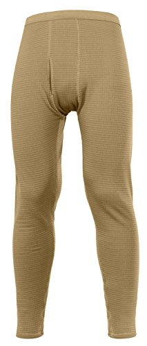 Rothco Military E.C.W.C.S. Generation III Mid-Weight Bottoms, Coyote Brown, Large