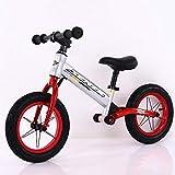Kinder Laufrad Lauflernrad Kinderrad für Jungen und Mädchen Laufrad Breitreifen Lenkerpolster...