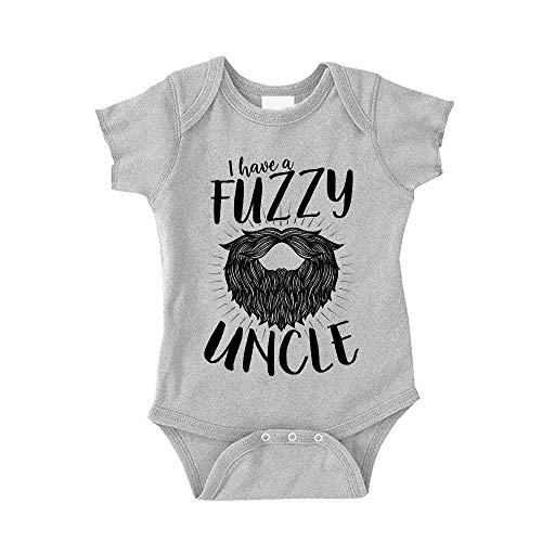 THE SHIRT DEN I Have A Fuzzy Uncle Baby Bodysuit