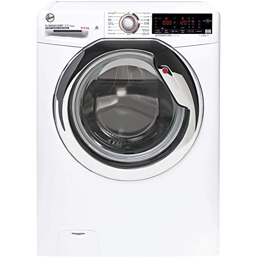 Hoover H3DS696TAMCE-80 H-Wash 9kg Wash 6kg Dry Freestanding Washer Dryer- White
