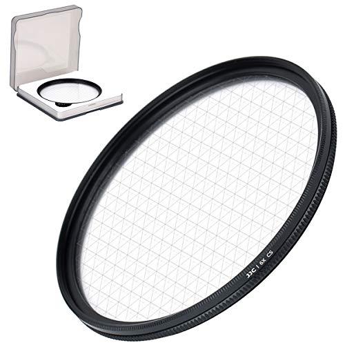 JJC 67-Punkt-Sternfilter mit Schutzhülle, für Canon, Nikon, Pentax, Olympus, Sony, Panasonic, Fujifilm DSLR-Kamera, optische Glaslinsenfilter mit Rahmen aus Aluminiumlegierung