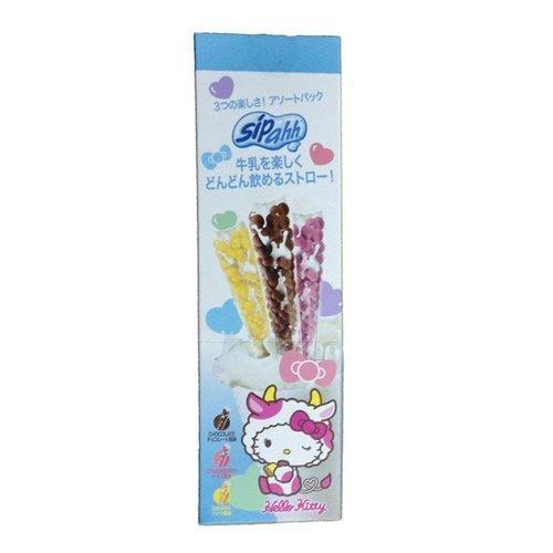 ミラクルストロー シッパー チョコ味&イチゴ味&バナナ味 [3.5g 1本入×3種類]