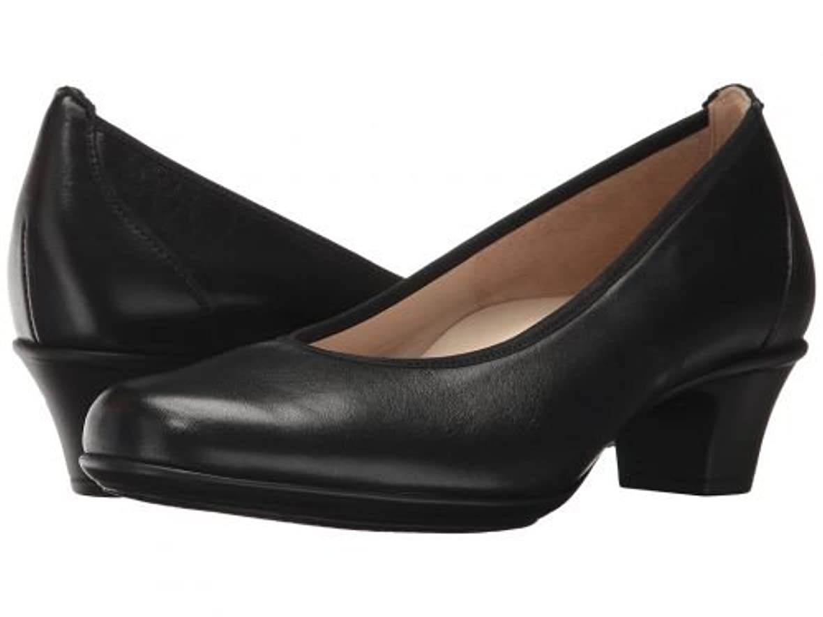 配る低下ウェイターSAS(サス) レディース 女性用 シューズ 靴 ヒール アンクル Milano - Black [並行輸入品]