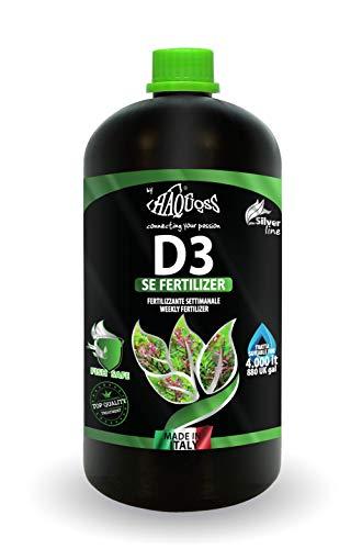 Haquoss D3 SE Fertilizer Fertilizzante Liquido 1000ml