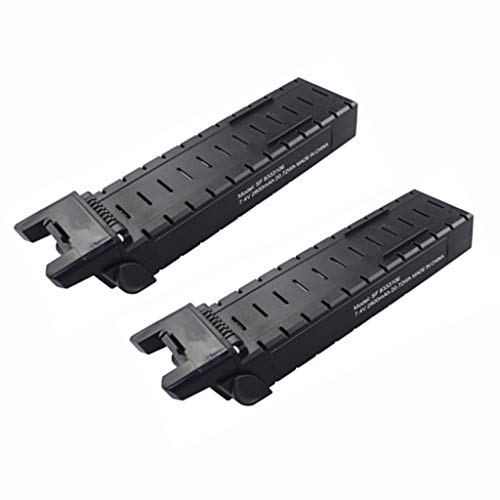 sea jump Accessories 2PCS 7.4V 2800mah Lithium Battery for MJX Bugs 3PRO B3 PRO D85 EX2H Brushless Four-axis Aircraft Accessories Remote Control Drone Battery