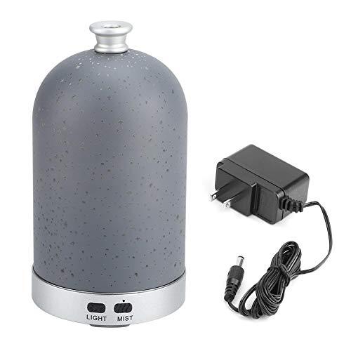 Topincn 100ml 3D-glas ultrasone aromatherapie aromatherapie aroma diffuser luchtbevochtiger LED nachtlampje 10-240V