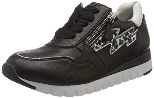 CAPRICE Damen Ibiza Sneaker, Schwarz, 38