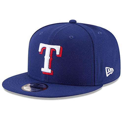 New Era Texas Rangers MLB Basic Snapback Cap 9fifty 950 OTC OSFA Basecap