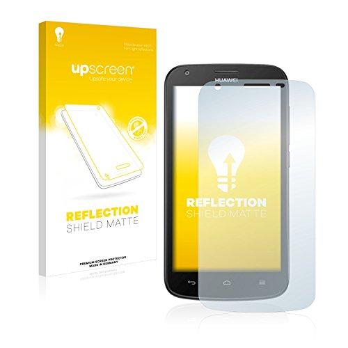 upscreen Entspiegelungs-Schutzfolie kompatibel mit Huawei Ascend Y600 – Anti-Reflex Bildschirmschutz-Folie Matt
