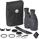 Canon 18x50 Image Stabilization All-Weather Binoculars - Starter Bundle