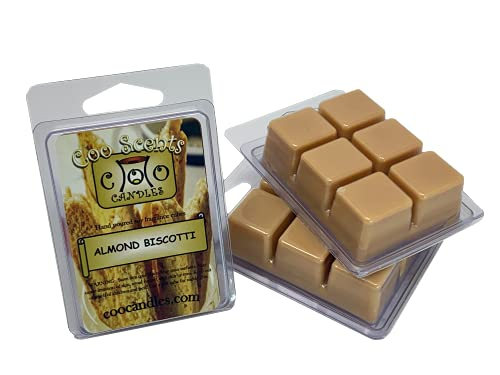 3 Pack Soy Blend Wickless Candles Highly Scented Wax Melts – Almond Biscotti