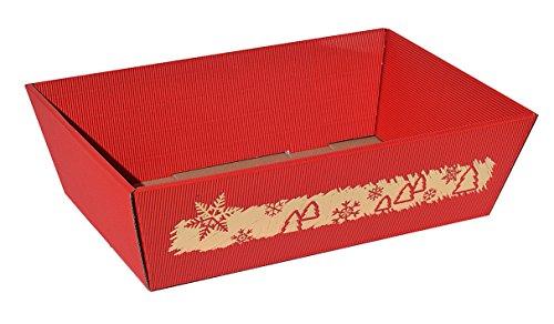 10x Präsentkorb Wintermärchen - Größe L, Geschenkkorb, Weihnachtskorb