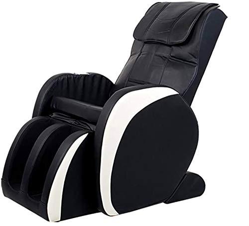 Sillas De Masaje Cuerpo Completo Y Reclinable, Sofá de masaje multifuncional for silla de masaje calefacción doméstica con gravedad cero de todo el cuerpo de la cápsula eléctrica ( Color : Black )
