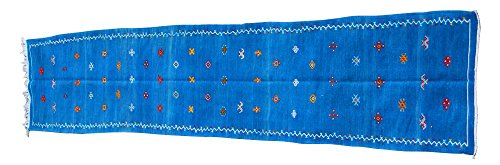 Berber Cottage Industrie Kilim Chemin de Marocain Bleu