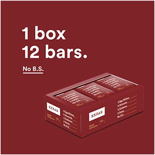 RXBAR, Banana Chocolate Walnut, Protein Bar, 1.83 Ounce (Pack of 12), High Protein Snack, Gluten Free 4