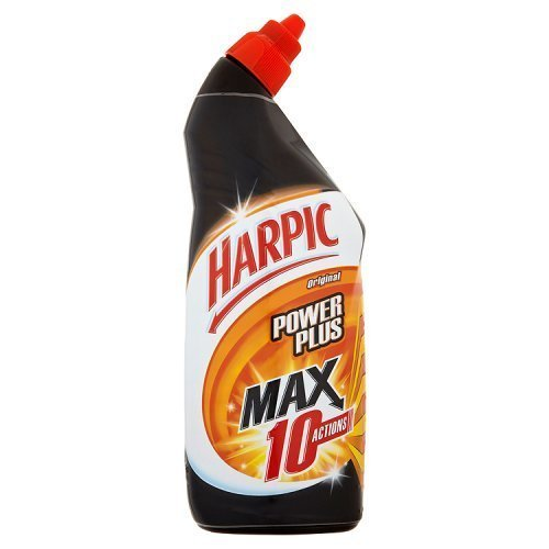 Harpic Power Plus Max 10 Actions Original Toilet Cleaner 750ml each by Harpic