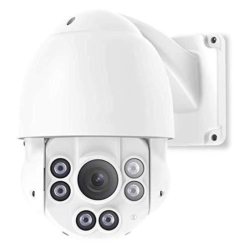 HDHUIXS Cámara de Seguridad, cámara IP Exteriores Super HD con Ranura de Tarjeta Micro SD Impermeable IR Visión Nocturna Acceso Remoto Detección de Movimiento