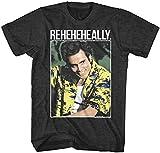 kuler Ace Ventura Pet Detective Reheheally Adult T Shirt Funny Movie Black XXL