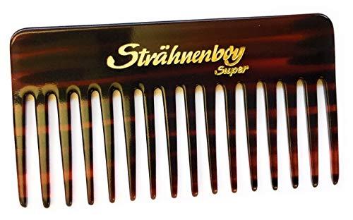 Strähnenboy SUPER peigne à cheveux fait main - 13 cm - 16 dents - Peigne afro à grosses dents (13)